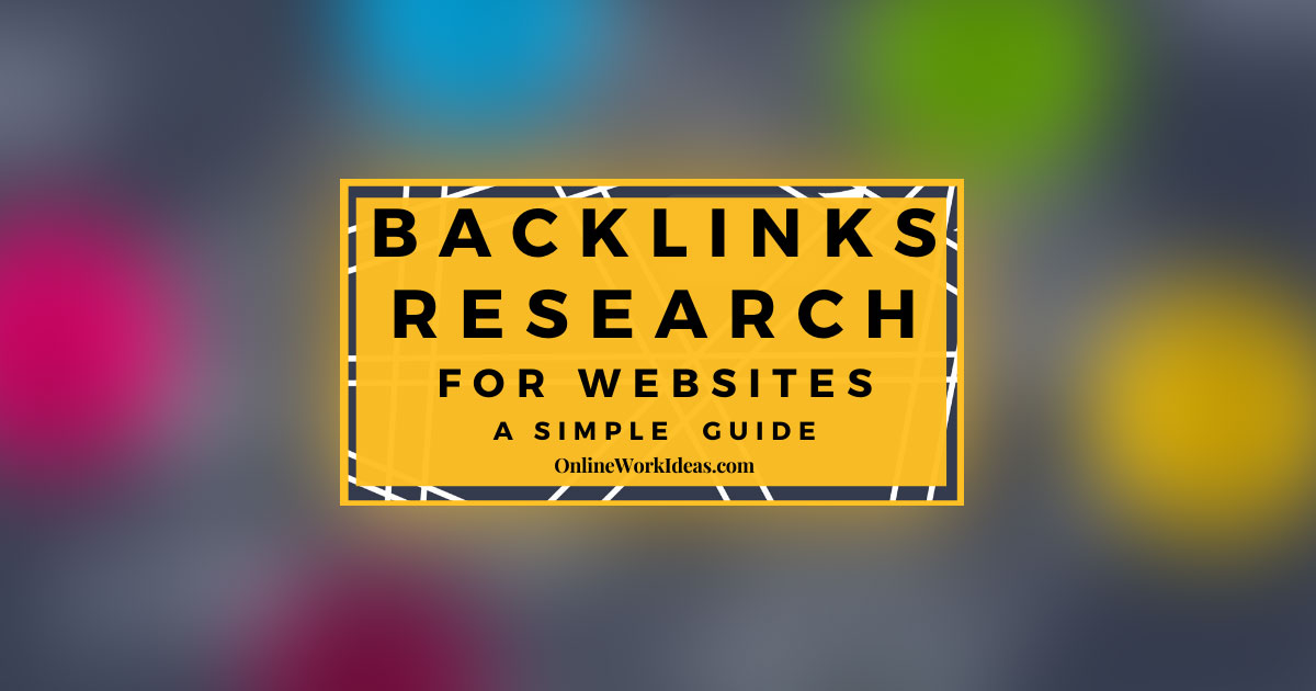 SEO Backlinks Research to Increase Ranking