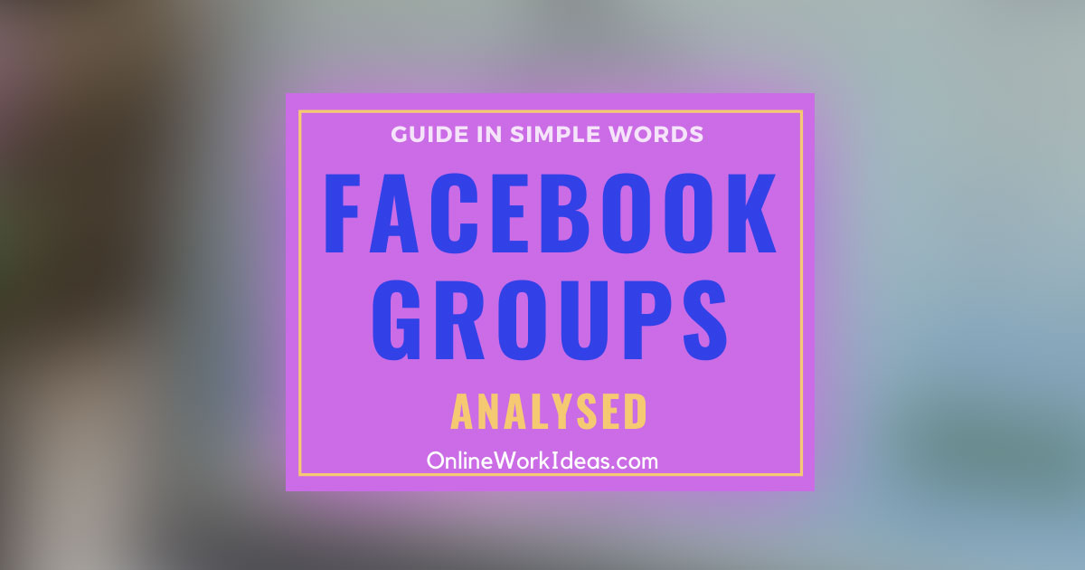 What is Facebook Groups