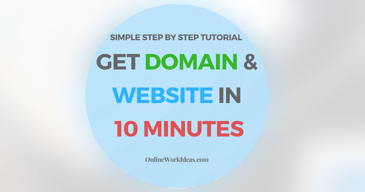 How to Get Domain and Website