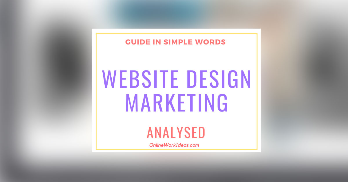 What is Website Design Marketing