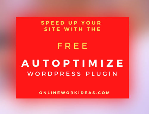 How to Setup and Use the Free Autoptimize WordPress Plugin